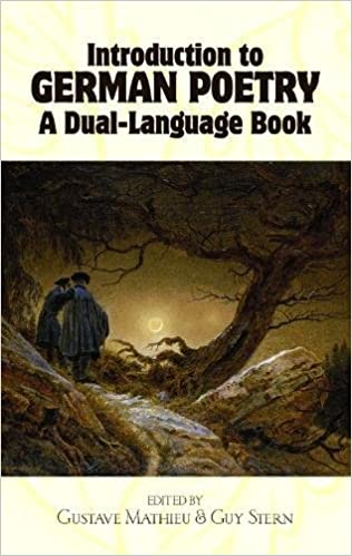 Introduction to German Poetry: A Dual-Language Book (Dover Dual Language German)