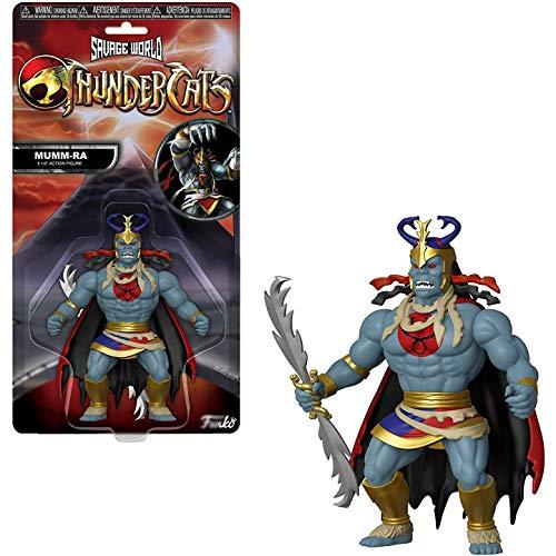 Funko Mumm-Ra: Thundercats x Savage World Mini Action Figure + 1 American Cartoon Themed Trading Card Bundle [30152]