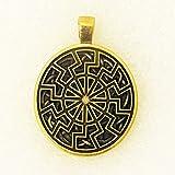 Amuleto Colgante Negro Sol