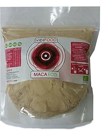 Maca ECO en Polvo - 1kg - Fuente de Aminoácidos, Fibra y Vitaminas - Alta calidad - 100% Natural - Superalimento Saludable para Musculación y ...