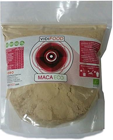 VidiFood Maca ECO en Polvo – 1 kg