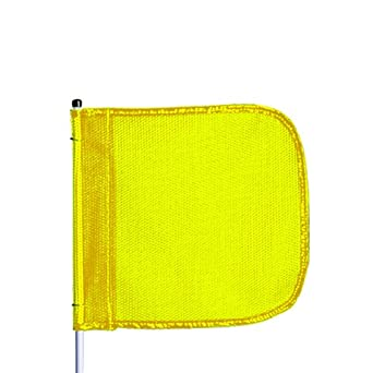 Flagstaff FS10 Split Pole Safety Flag, Male Quick Disconnect Base