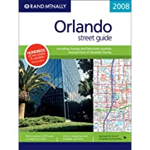 Amazon rand mcnally florida united states books rand mcnally 2008 orlando street guide rand mcnally orlando street guide including orange seminole sciox Image collections