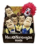 Hello Neighbor 10'' Plush Toy Set of all 6 Styles -Complete Set