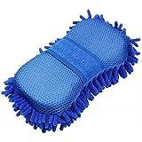 TECHICON Multipurpose Microfibre Wash & Dry Cleaning Sponge, 1 Piece - Random Color