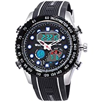 Wrath Jet Black Analog & Digital Luxury Watch for Men & Boys
