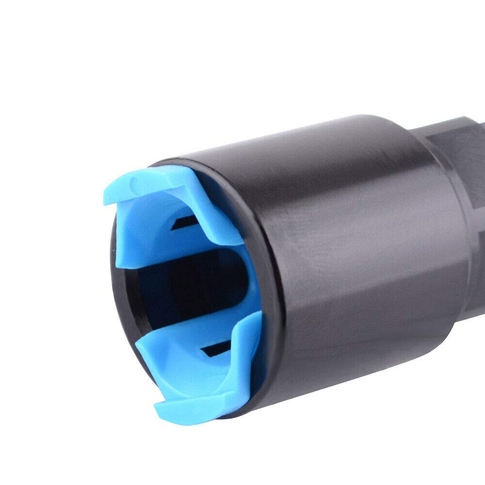 6AN Male Flare EFI Fitting To 5//16 SAE For LS LS1 LS3 Hose GM Quick-Disconnect Female Push-On 6AN, 5//16