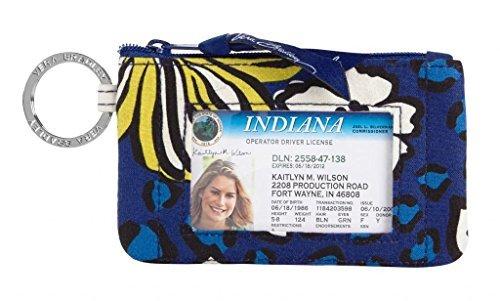 Vera Bradley Zip ID Case African Violet