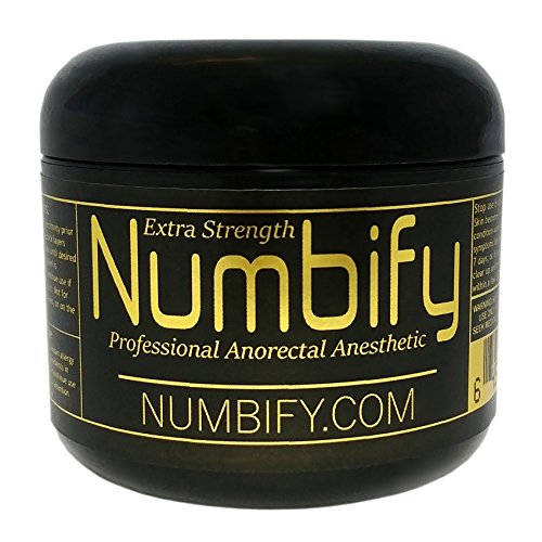 Numb-ify Numbing Gel 5% Lidocaine Extra Strength Anesthetic - Numb-ify's Strongest Numbing Gel (4 Oz)