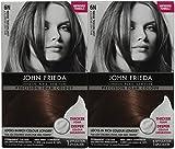 john frieda foam color - John Frieda Precision Foam Hair Colour, Light Natural Brown 6N, 2 pk