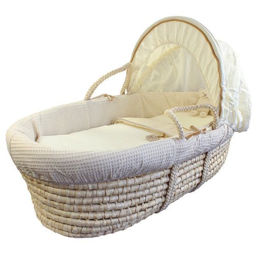 Izziwotnot Baby-Körbchen - Cream Gift