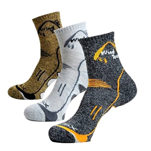 Price comparison product image Men Casual Socks Quick Dry Breathable Cotton Socks Antibacterial Male Winter wool Socks 3 Lot