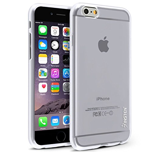 Insten [Slimfit] Case Compatible with iPhone 6/ 6S Case, Transparent TPU Case Skin Cover [Anti-Shock Protection] Compatible with Apple iPhone 6/ 6S (4.7
