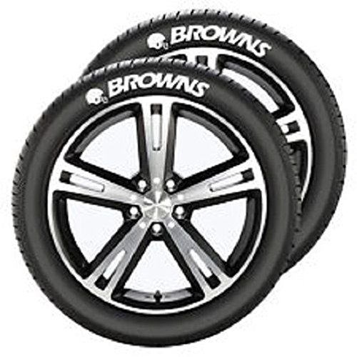 Cleveland Costumes (NFL Cleveland Browns Tire Tatz, One Size, One Color)