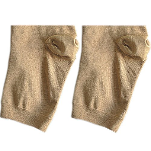 Zipper Compression Socks Toe Open for Varicose Veins and Edema , Unisex Zip Sox (2 pack) (Nude, XX-Large)