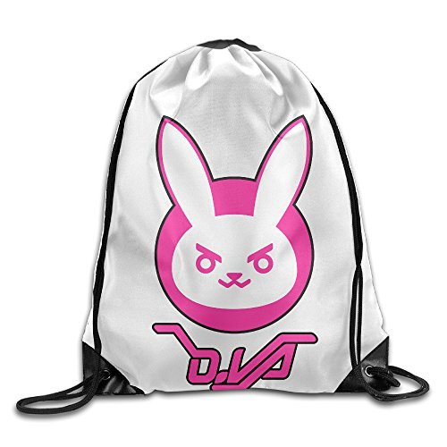 Carina Overwatch Rabbit Personality Backpack One Size