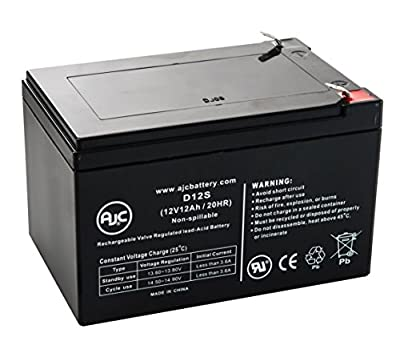 Schumacher Electric PS-120A Mity-Mite Jump Starter Charger Battery - This is an AJC Brand® Replacement