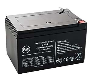 Batería de SAI de 12V 12Ah APC Back-UPS Pro BP110012 - Es un recambio de la marca AJC®
