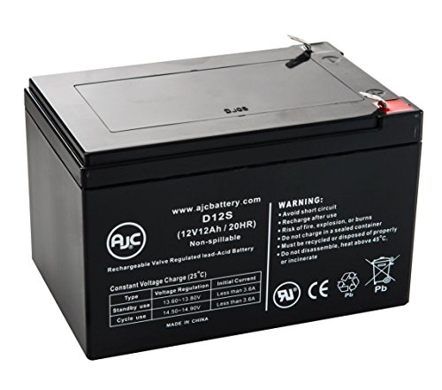 B&B BP12-12 12V 12Ah UPS Battery - This is an AJC Brand Replacement