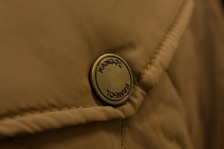 Big Mens Kangol Ranger Quilted Jacket Tan 2XL 3XL 4XL 5XL 6XL