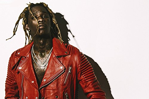 Young Thug Rapper Music Hip-Hop Poster 24x36