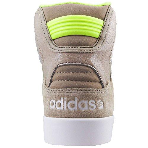 Adidas - Hitop Mid - F76451 - Color: Beige-Marrón - Size: 42.6