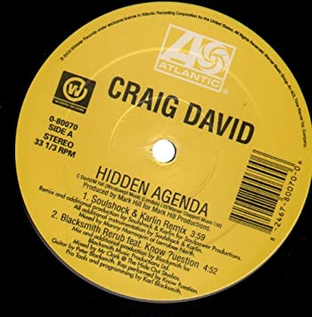 Hidden Agenda : Craig David: Amazon.es: Música