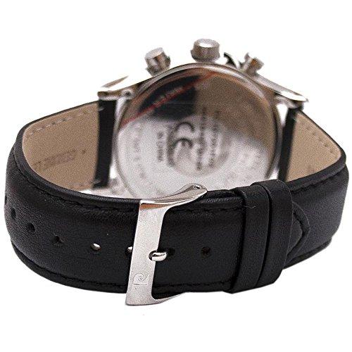 Pierre Cardin herrarmbandsur kronograf kvarts läder PC107201F02