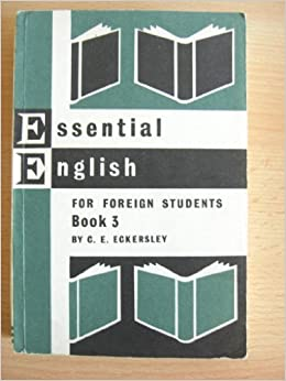 Essential English Book 1 Foreign Students