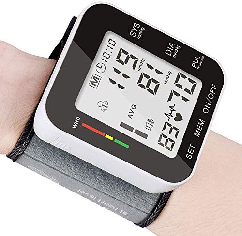 Blood Pressure Monitor, Fully Automatic Accurate Wrist Blood Pressure Monitor-47