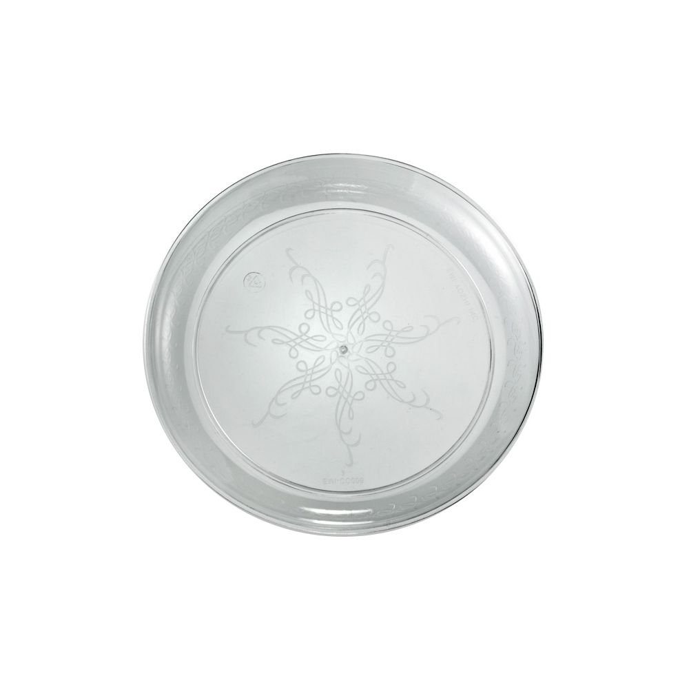 EMI Yoshi EMI-CC9 Clear Plastic 9'' Plate - 240 / CS by EMI Yoshi (Image #1)