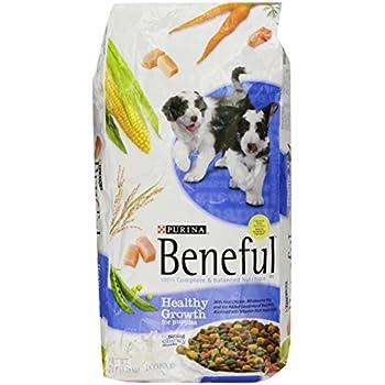 Amazoncom Purina Beneful Healthy Puppy Dry Dog Food 155 Lb Bag