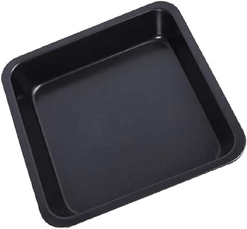 Molde de Horno Cuadrado Fuente de Horno Rectangular Revestimiento Antiadherente Acero al Carbono Adecuado para Hornear pan Cocinar Platos etc(22.5 * 22.5 * 4.5 cm): Amazon.es: Hogar