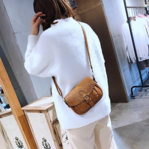 mini Fille et pratique Utile Belle bandoulière tendance Brun joli Cadeau Femme sac à léger qRSwgIR