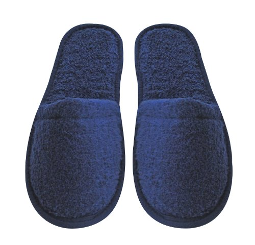 Arus Women's Turkish Terry Cotton Cloth Spa Slippers
