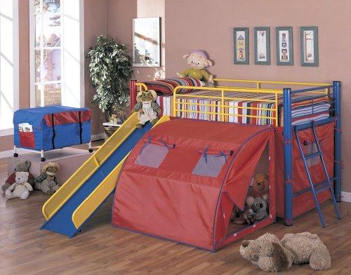 Coaster Bunk Slide Tent Multicolor