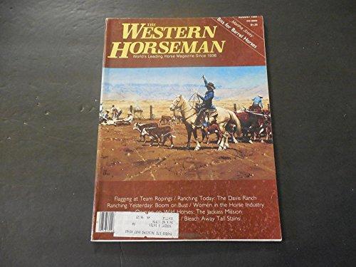 Western Horseman Aug 1980 Team Ropings; Barrel Horses; Ranching Today