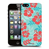 Head Case Designs Hibiscus Hawaiian Patterns Protective Snap-on Hard Back Case Cover for Apple iPhone 5 5s