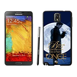 Once Upon a Time Black Samsung Galaxy Note 3 Screen Cover Case Grace and Durable Protective