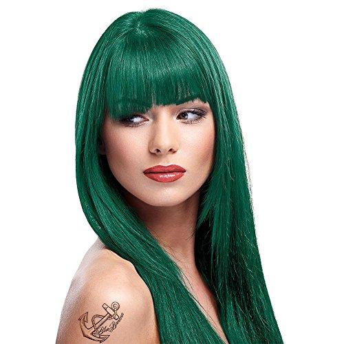 La Riche Directions Semi Permanent Alpine Green Hair Colour Dye x 2