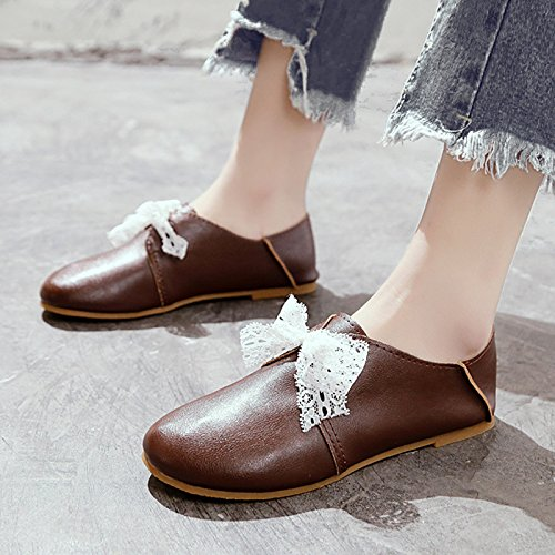 d0c80f8cdc520 Amazon.com : GAOLIM Spring Women Shoes Round Head Small White Shoes ...