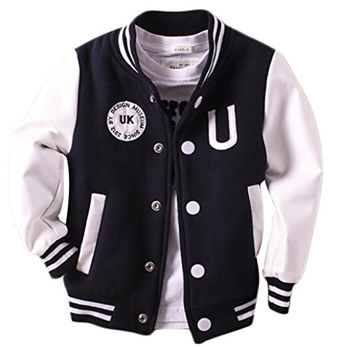 Old Navy Letterman Jacket - EGELEXY Kids Boys Spring Letter Print