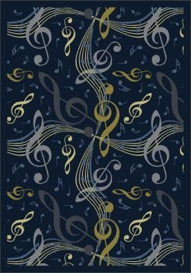 Joy Carpets Kid Essentials Music & Special Needs Virtuoso Ru