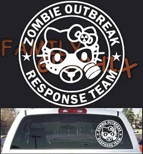 Amazon.com: Zombie Outbreak Response Hello Kitty Large ...