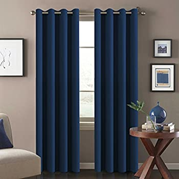 Merveilleux H.Versailtex Ultra Soft Premier Blackout Curtain Panels,Thermal Insulated Bedroom  Curtains With Antique