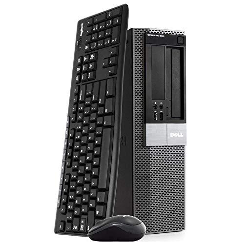 Dell OptiPlex 980 Small Form Factor Desktop Computer, Intel i5-650 3.10GHz PC, 8 GB RAM, 500 GB Hard Drive, Windows 10 Pro, New 16GB Flash Drive, Wireless Keyboard & Mouse, WiFi, Bluetooth (Renewed)