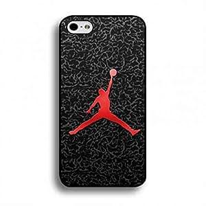 Jordan caja del teléfono,Sports Brand Jordan iPhone 6/iPhone 6S(4.7inch) funda de,Hard Plastic funda de