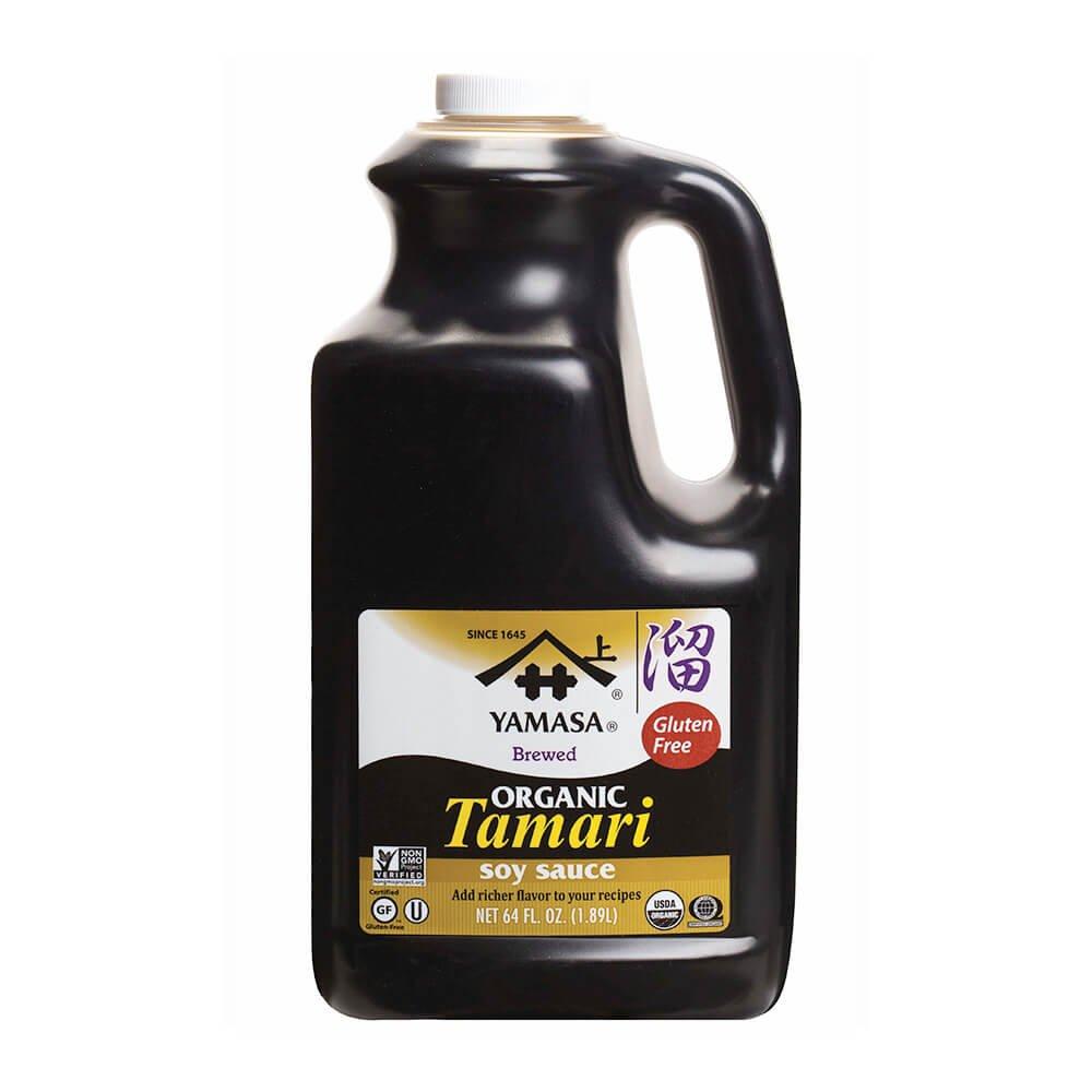 Yamasa Soy Tamari, Organic, Wheat Free, 4-Pound Units by Yamasa