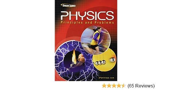 Glencoe Physics Principles Problems Student