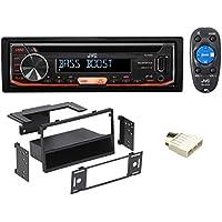 JVC CD Player Receiver USB/AUX/MP3 3-Band Eq+Remote For 1996-1998 Honda Civic